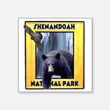 "shenandoah2 Square Sticker 3"" x 3"""