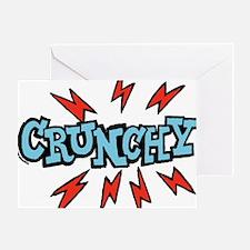 crunchy_blue Greeting Card