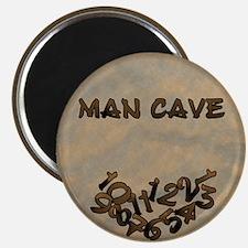 Man Cave Fallen Numbers Magnet