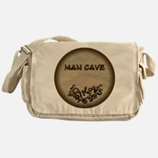 Man Cave Fallen Numbers Messenger Bag