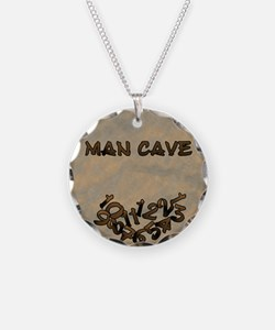 Man Cave Fallen Numbers Necklace