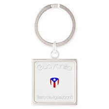 Guayanilla B Square Keychain