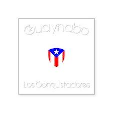 "Guaynabo B Square Sticker 3"" x 3"""