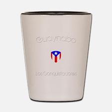Guaynabo B Shot Glass