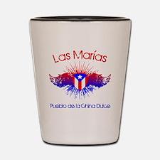 Las Marias W Shot Glass