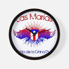 Las Marias W Wall Clock