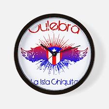 Culebra W Wall Clock
