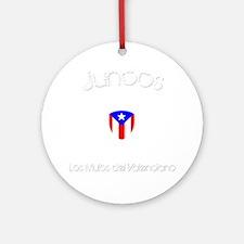 Juncos B Round Ornament