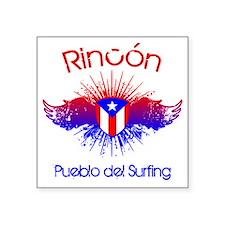 """Rincon W Square Sticker 3"""" x 3"""""""