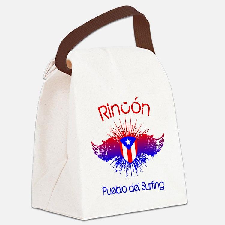 Rincon W Canvas Lunch Bag