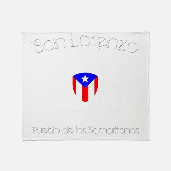 San Lorenzo B Throw Blanket