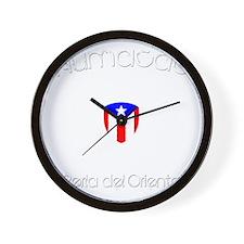 Humacao B Wall Clock