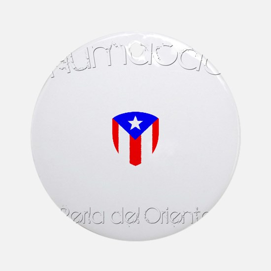 Humacao B Round Ornament