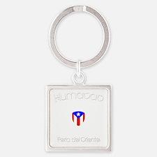 Humacao B Square Keychain