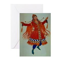 Polovtsian Dancer Greeting Cards (Pk of 10)