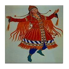Polovtsian Dancer Tile Coaster
