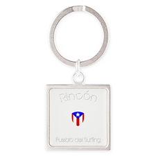 Rincon B Square Keychain