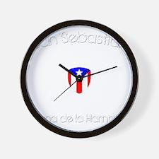 San Sebastian B Wall Clock