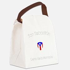 San Sebastian B Canvas Lunch Bag