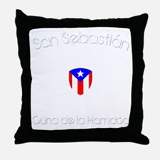San Sebastian B Throw Pillow