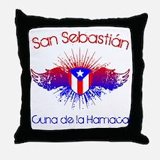 San Sebastian W Throw Pillow