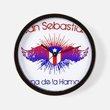 San Sebastian W Wall Clock