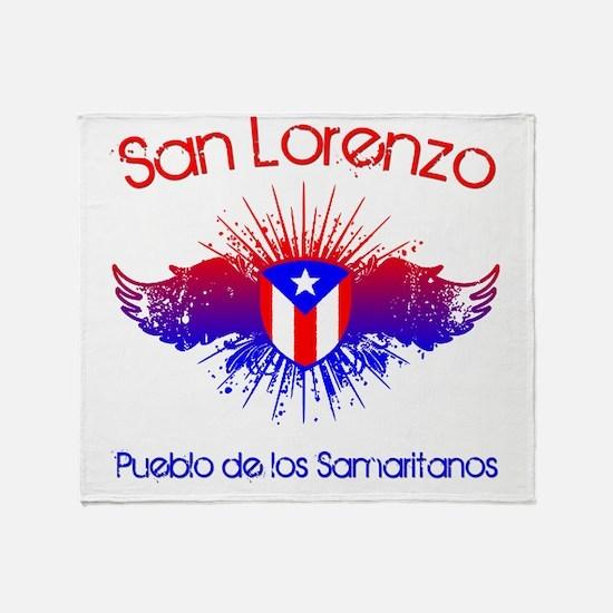 San Lorenzo W Throw Blanket