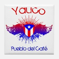 Yauco W Tile Coaster