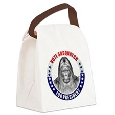 may_vote_sasquatch Canvas Lunch Bag