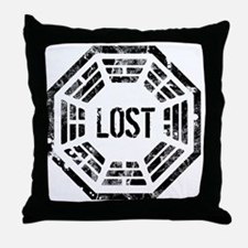 Lost Dharma Throw Pillow