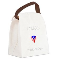 Yauco B Canvas Lunch Bag