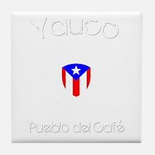 Yauco B Tile Coaster