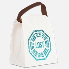 Lost Dharma Blue Canvas Lunch Bag