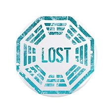 "Lost Dharma Blue 3.5"" Button"
