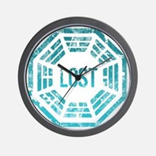 Lost Dharma Blue Wall Clock