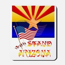 Stand With Arizona Trans Mousepad
