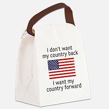 forward Canvas Lunch Bag