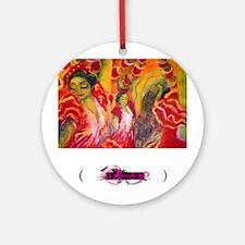 Flamenco, Ornament (Round)
