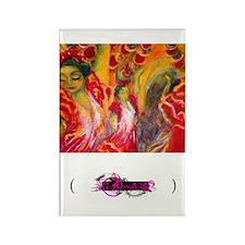 Flamenco, Rectangle Magnet