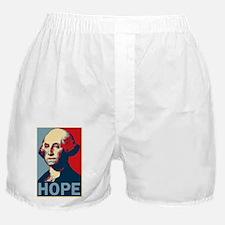 George Washington Hope poster Boxer Shorts