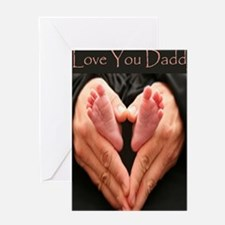 hands and feet mousepad Greeting Card
