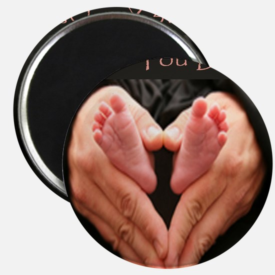 hands and feet tile Magnet