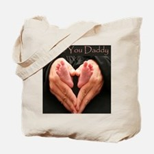 hands and feet tile Tote Bag