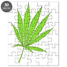 marijuana leaf-color-lg-001 Puzzle