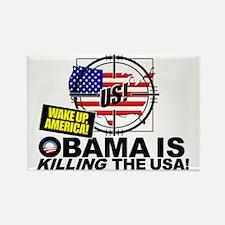 2012-Obama-is-a-Criminal Rectangle Magnet