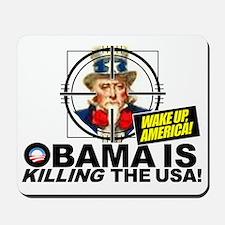 2012-Obama-is-Evil Mousepad