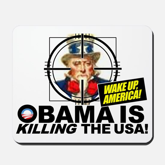 2012-Obama-is-Evil Mousepad