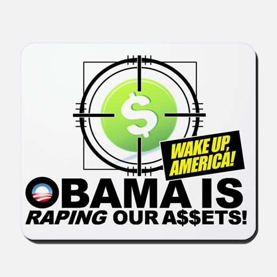 2012-Obama-Recession Mousepad