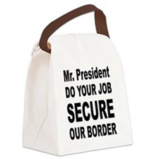 1border1 Canvas Lunch Bag
