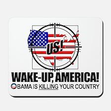 obama-lies Mousepad